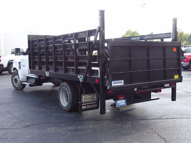 2021 Silverado Medium Duty Regular Cab DRW 4x2,  Monroe Truck Equipment Work-A-Hauler II Stake Bed #3210563 - photo 11