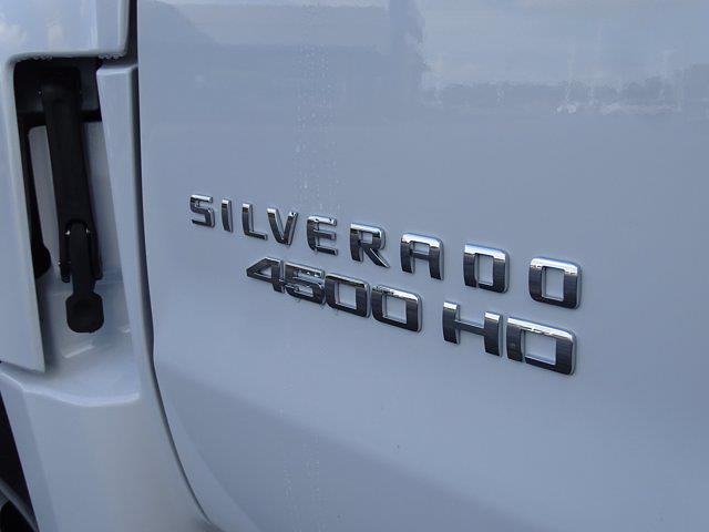 2021 Silverado Medium Duty Regular Cab DRW 4x2,  Monroe Truck Equipment Work-A-Hauler II Stake Bed #3210563 - photo 13