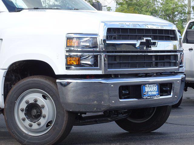 2021 Silverado Medium Duty Regular Cab DRW 4x2,  Monroe Truck Equipment Work-A-Hauler II Stake Bed #3210563 - photo 3