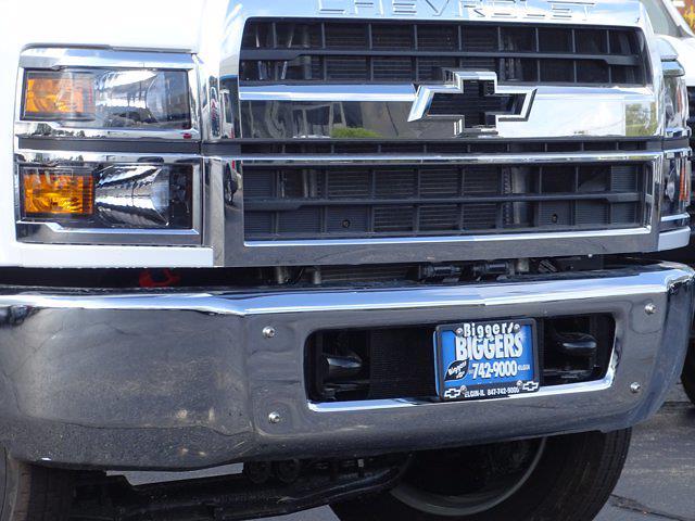 2021 Silverado Medium Duty Regular Cab DRW 4x2,  Monroe Truck Equipment Work-A-Hauler II Stake Bed #3210563 - photo 4
