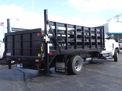 2021 Silverado Medium Duty Regular Cab DRW 4x2,  Monroe Truck Equipment Work-A-Hauler II Stake Bed #3210563 - photo 2