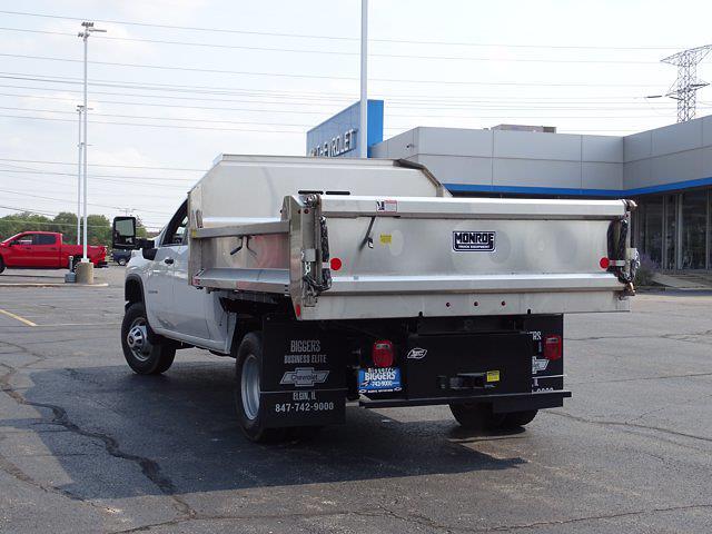 2021 Silverado 3500 Crew Cab AWD,  Dump Body #3210592 - photo 15