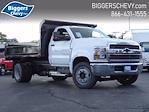 2021 Silverado Medium Duty Regular Cab DRW 4x2,  Monroe Truck Equipment MTE-Zee Dump Body #3210596 - photo 1