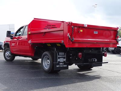 2021 Silverado 3500 Crew Cab AWD,  Monroe Truck Equipment MTE-Zee Dump Body #3210606 - photo 2