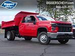 2021 Silverado 3500 Crew Cab AWD,  Monroe Truck Equipment MTE-Zee Dump Body #3210606 - photo 1