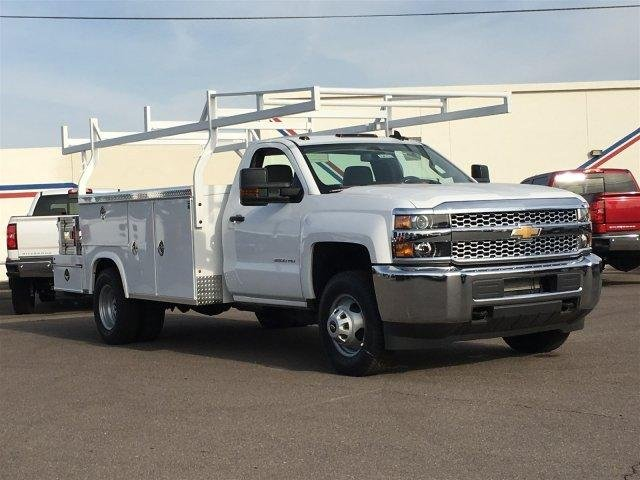2019 Silverado 3500 Regular Cab DRW 4x2,  Royal Combo Body #196703 - photo 1