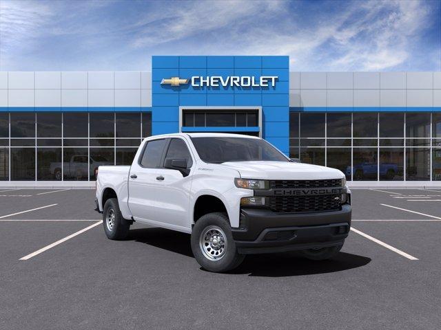 2021 Chevrolet Silverado 1500 Crew Cab 4x2, Pickup #216136 - photo 1