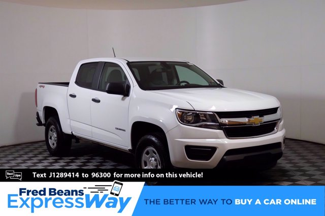 2018 Chevrolet Colorado Crew Cab 4x4, Pickup #C00132S - photo 1