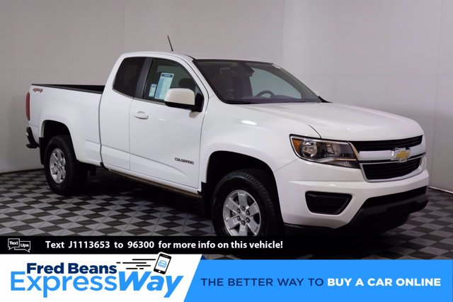 2018 Chevrolet Colorado Extended Cab 4x4, Pickup #C00832X - photo 1