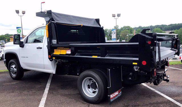 2021 Chevrolet Silverado 3500 Regular Cab AWD, Crysteel Dump Body #C10348 - photo 1