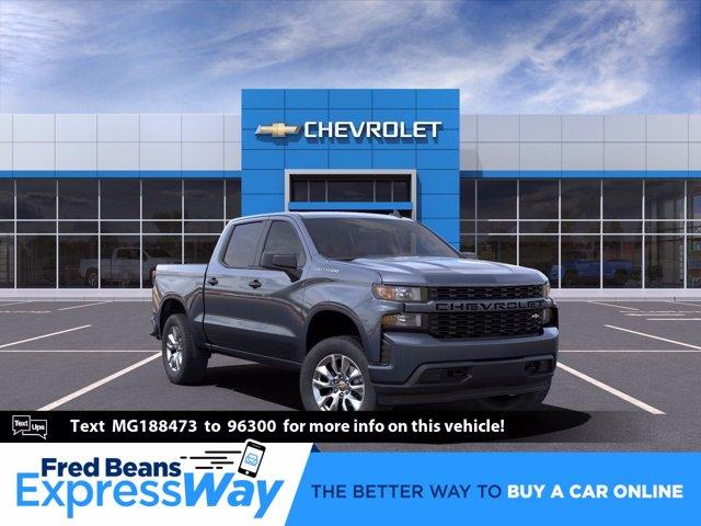 2021 Chevrolet Silverado 1500 Crew Cab 4x4, Pickup #C10154 - photo 1