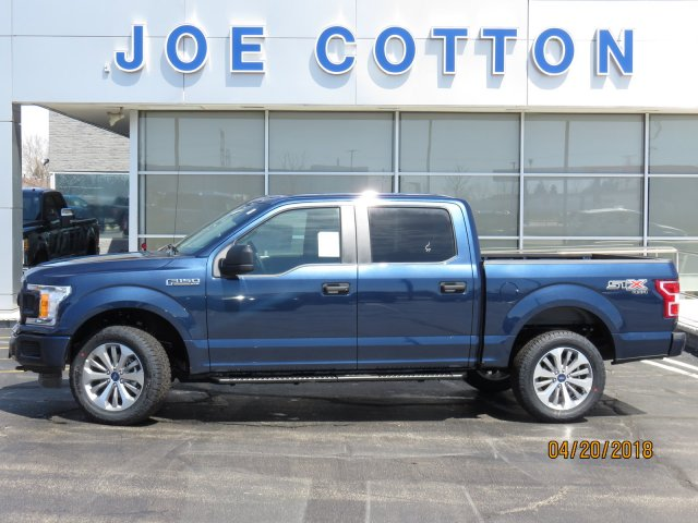 2018 F-150 SuperCrew Cab 4x4,  Pickup #T8328 - photo 1
