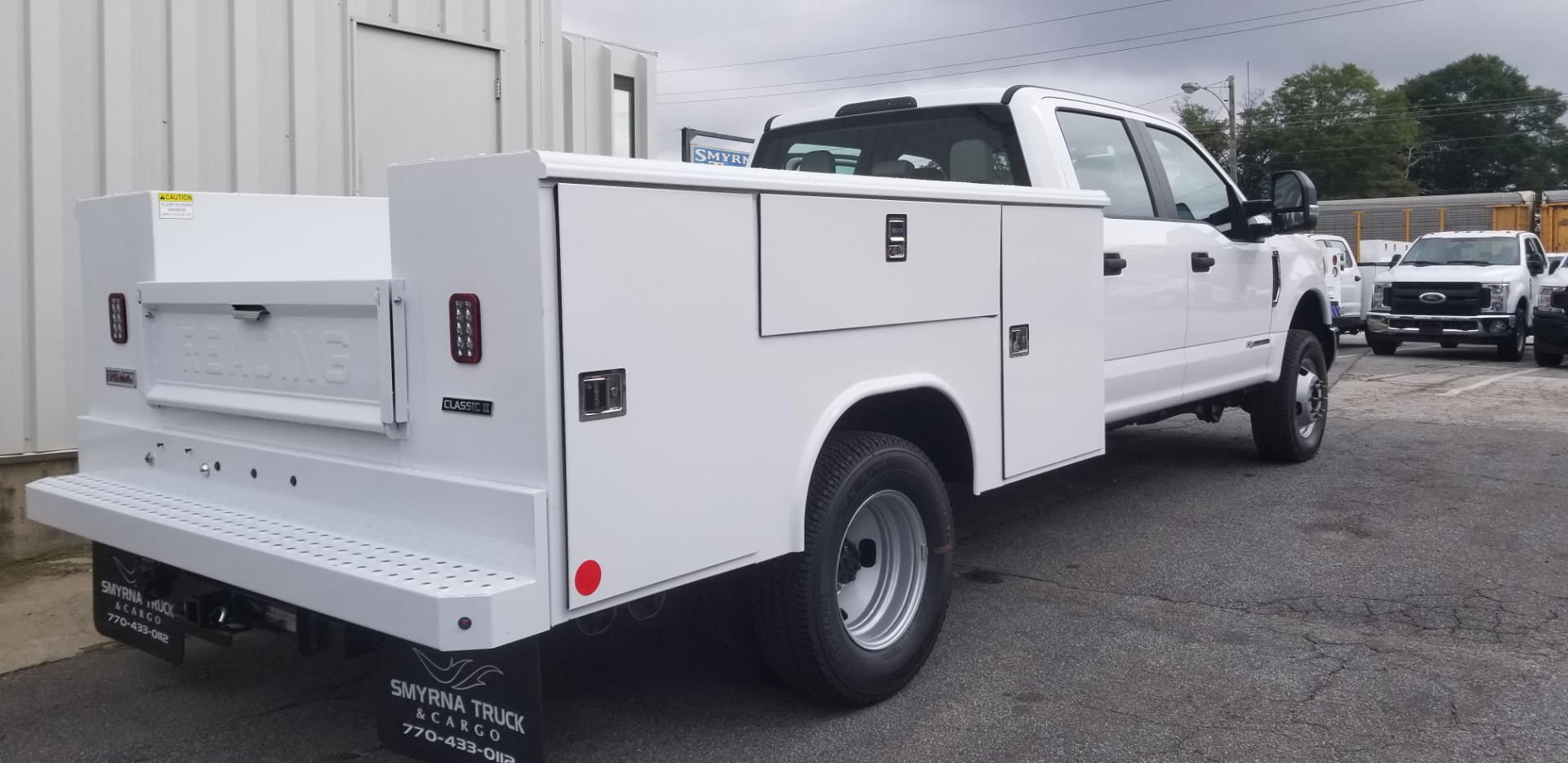 2019 F-350 Crew Cab DRW 4x4,  Reading Classic II Steel Service Body #5536 - photo 2