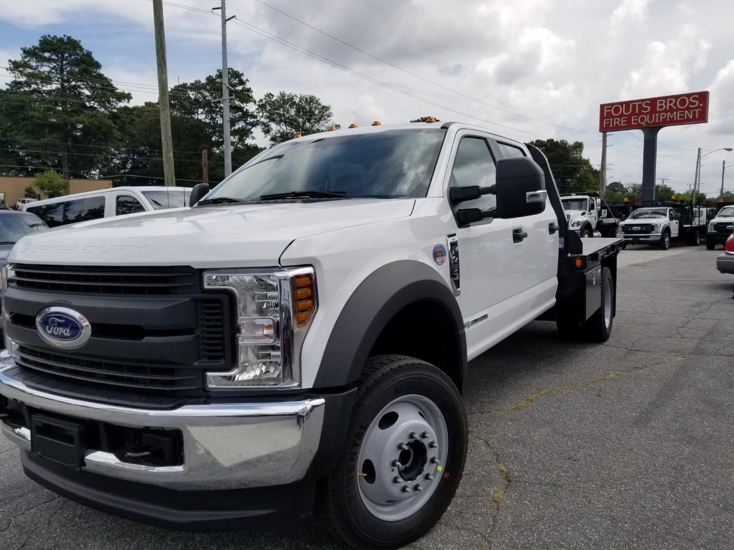 2019 F-450 Crew Cab DRW 4x4,  Freedom Rodeo Platform Body #5543 - photo 1