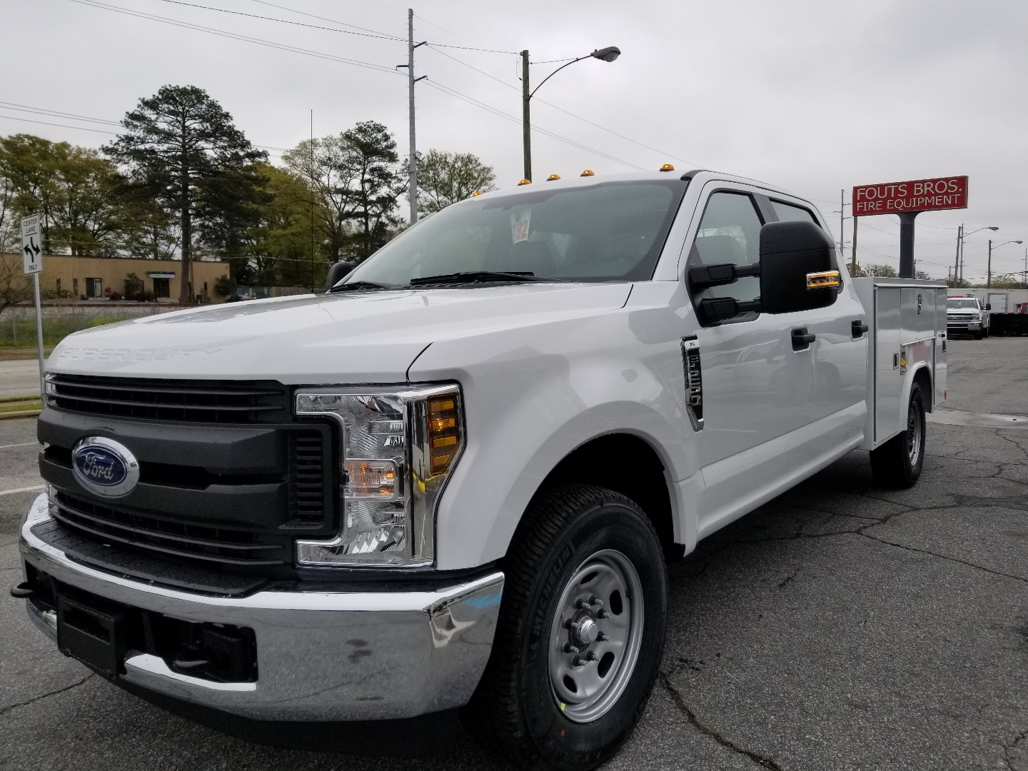 2018 F-250 Crew Cab 4x2,  Service Body #8804 - photo 1