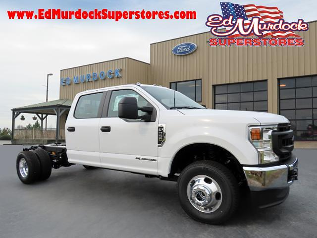 2021 Ford F-350 Crew Cab DRW 4x4, Cab Chassis #FT21166 - photo 1