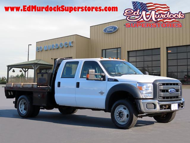 2016 Ford F-450 Crew Cab DRW 4x4, Platform Body #T20176A - photo 1