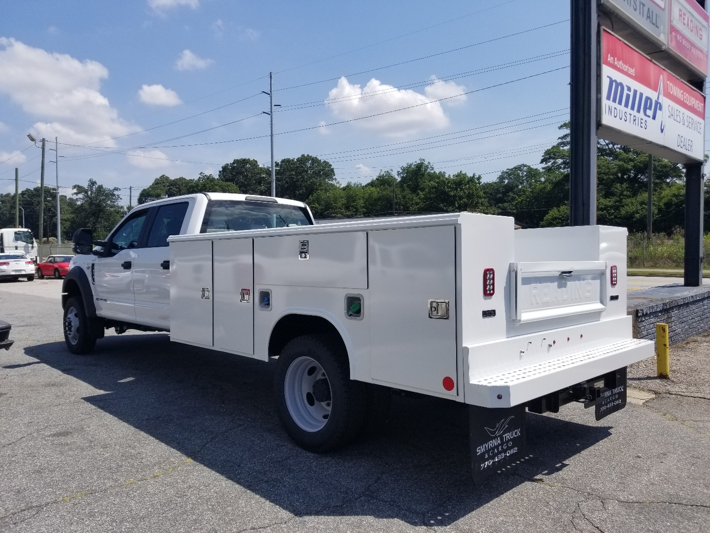 2018 F-450 Crew Cab DRW 4x2,  Reading Service Body #8807 - photo 2