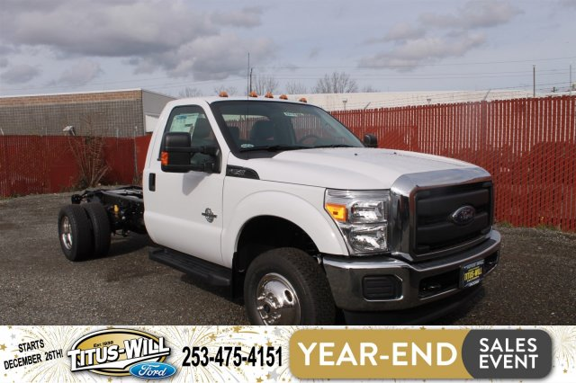 2016 F-350 Regular Cab DRW 4x4, Cab Chassis #F60678 - photo 4