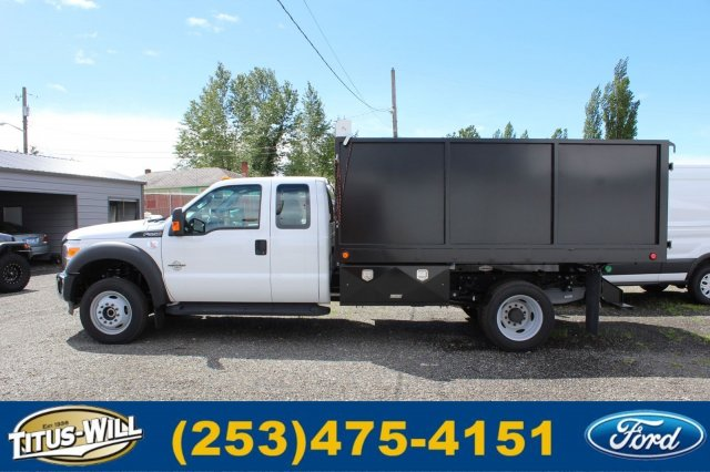 2016 F-550 Super Cab DRW 4x4, Landscape Dump #F61519 - photo 3