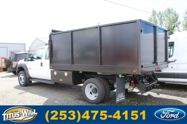 2016 F-550 Super Cab DRW 4x4, Landscape Dump #F61519 - photo 2
