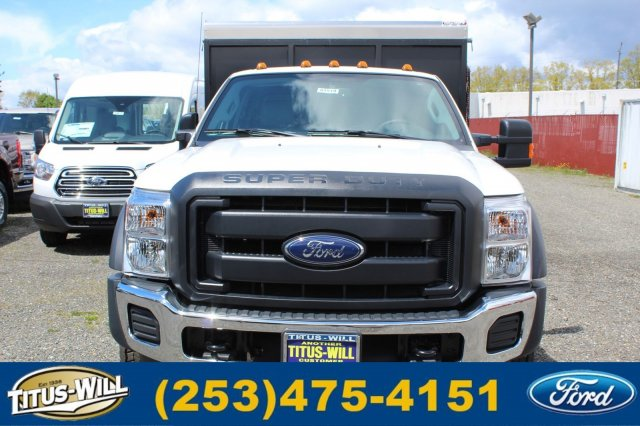 2016 F-550 Super Cab DRW 4x4, Landscape Dump #F61519 - photo 5