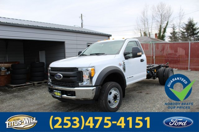 2017 F-450 Regular Cab DRW, Cab Chassis #F70721 - photo 1