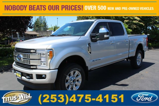 2017 F-350 Crew Cab 4x4 Pickup #F71103 - photo 1