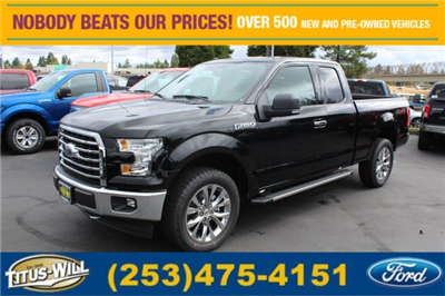 2017 F-150 Super Cab 4x4 Pickup #F71464 - photo 1
