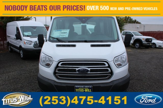 2017 Transit 250 Medium Roof Cargo Van #F71531 - photo 6