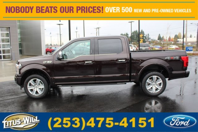 2018 F-150 Crew Cab 4x4 Pickup #F80060 - photo 3