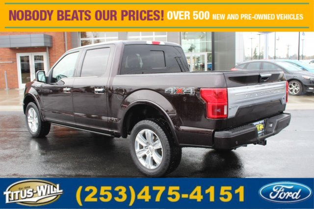 2018 F-150 Crew Cab 4x4 Pickup #F80060 - photo 2