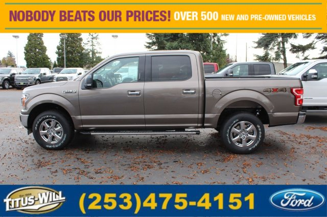 2018 F-150 Crew Cab 4x4 Pickup #F80061 - photo 3