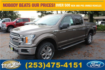 2018 F-150 Crew Cab 4x4 Pickup #F80061 - photo 1