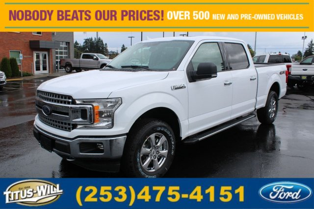 2018 F-150 Crew Cab 4x4 Pickup #F80072 - photo 1