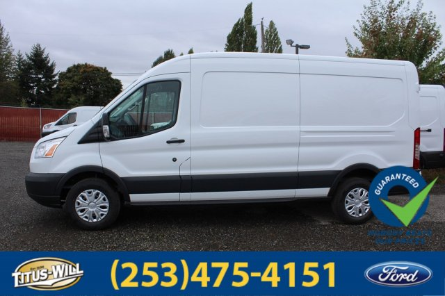 2018 Transit 350 Med Roof 4x2,  Empty Cargo Van #F80094 - photo 3