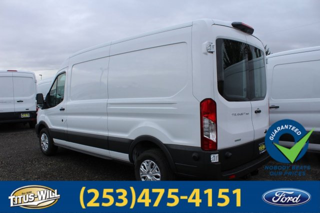 2018 Transit 350 Med Roof 4x2,  Empty Cargo Van #F80094 - photo 4