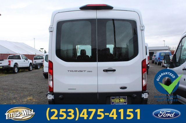 2018 Transit 350 Med Roof 4x2,  Empty Cargo Van #F80094 - photo 5