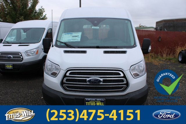 2018 Transit 350 Med Roof 4x2,  Empty Cargo Van #F80094 - photo 6