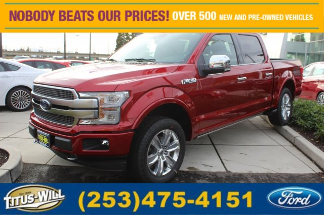 2018 F-150 Crew Cab 4x4 Pickup #F80125 - photo 1