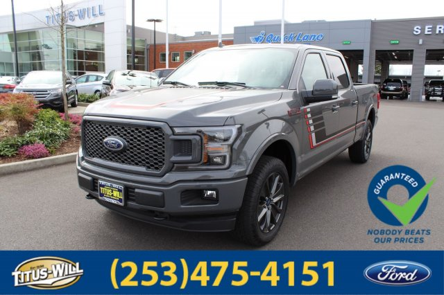 2018 F-150 SuperCrew Cab 4x4,  Pickup #F80167 - photo 1
