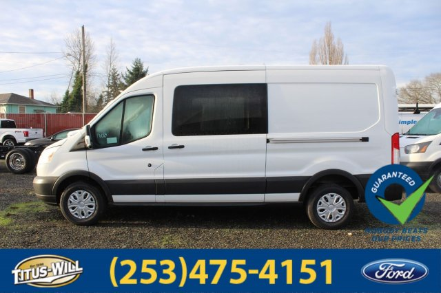 2018 Transit 250 Med Roof 4x2,  Empty Cargo Van #F80256 - photo 3