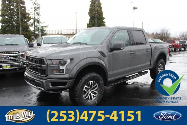 2018 F-150 Crew Cab 4x4, Pickup #F80342 - photo 1