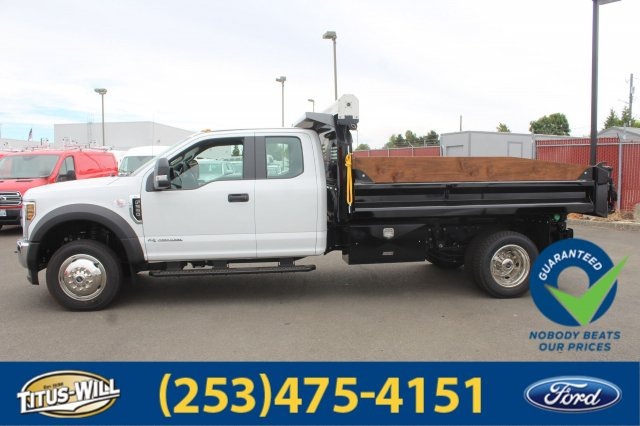 2018 F-550 Super Cab DRW 4x4,  Crysteel Dump Body #F80346 - photo 8