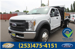 2018 F-550 Super Cab DRW 4x4,  Crysteel Dump Body #F80346 - photo 1