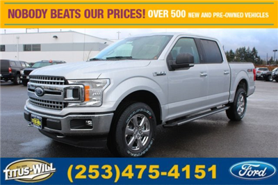 2018 F-150 Crew Cab 4x4 Pickup #F80350 - photo 1