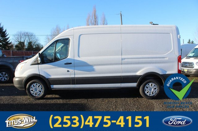 2018 Transit 350 Medium Roof, Cargo Van #F80375 - photo 3