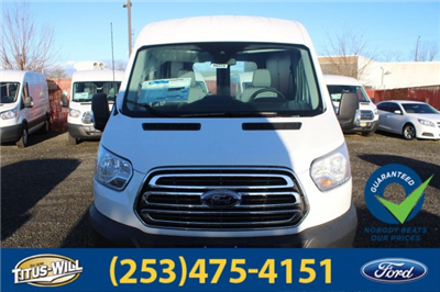 2018 Transit 350 Med Roof 4x2,  Empty Cargo Van #F80375 - photo 6