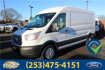 2018 Transit 350 Med Roof 4x2,  Empty Cargo Van #F80375 - photo 1
