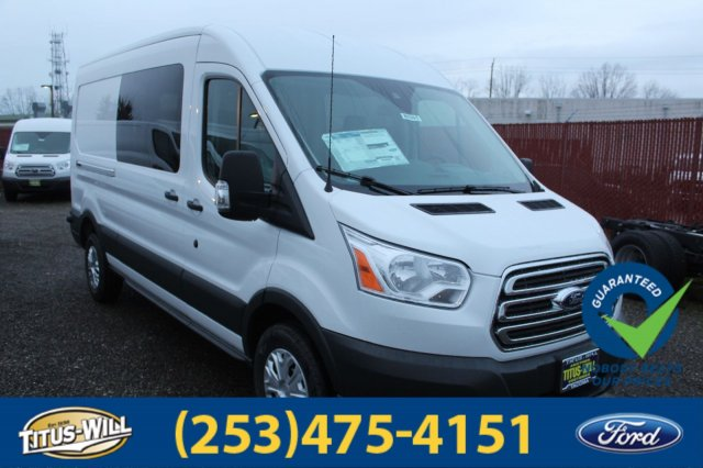 2018 Transit 250 Med Roof 4x2,  Empty Cargo Van #F80391 - photo 6